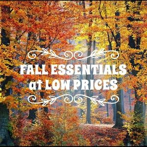Get your Fall Essentials at Great Prices!